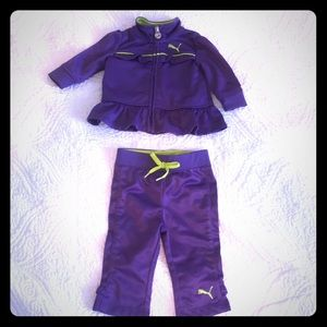 Puma 0-3 Month Outfit